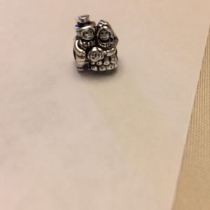 Retired Pandora bride and groom charm